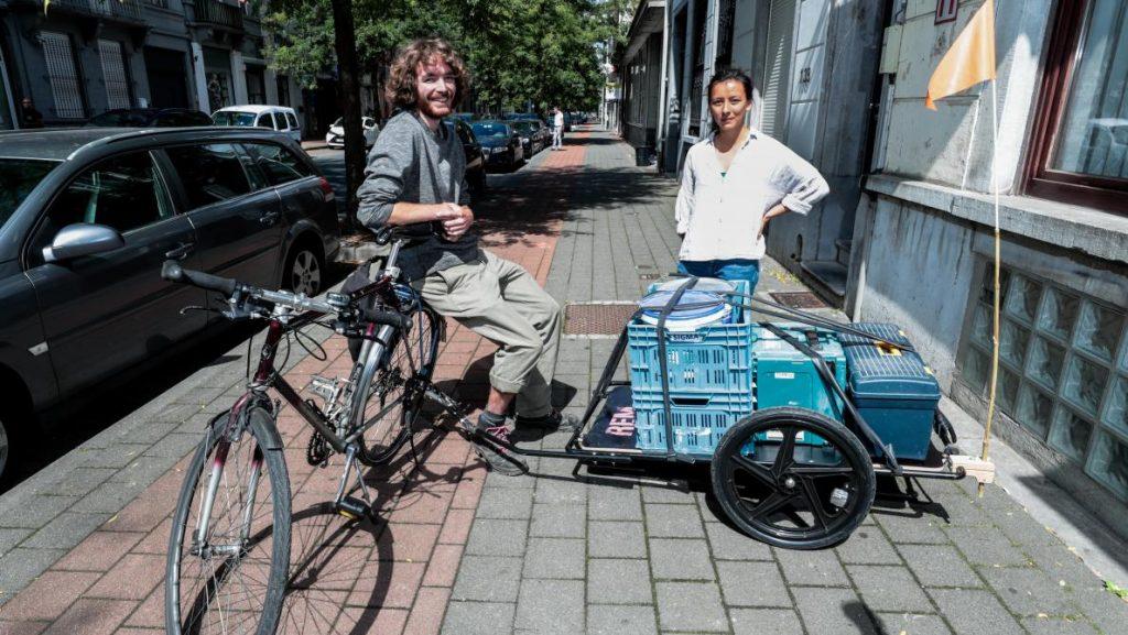 Bike trailers to share