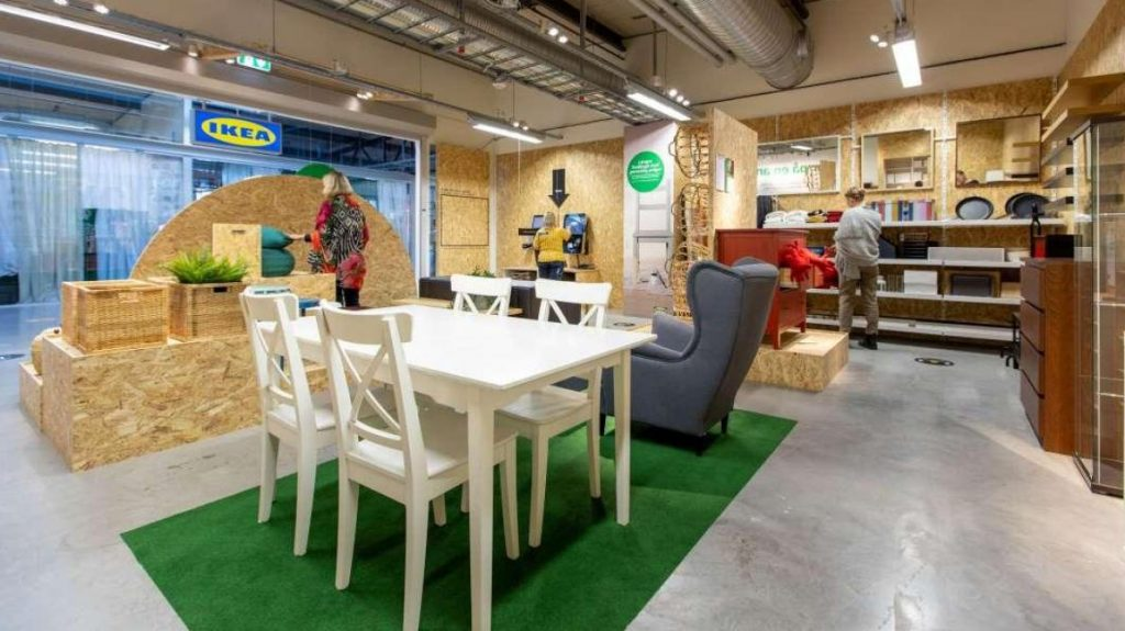 Ikea is surfing the second hand market