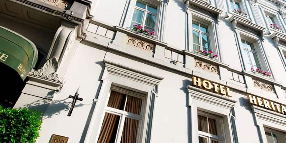 Most romantic hotel in the world, located in Bruges, obtains its 5th star