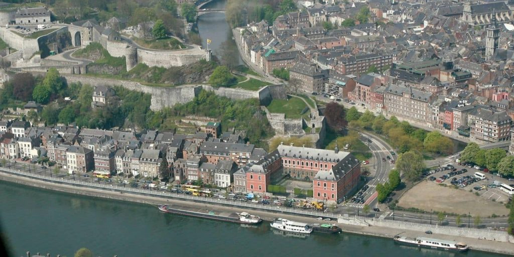 Namur placed by internet users in the top 10 of the best European destinations
