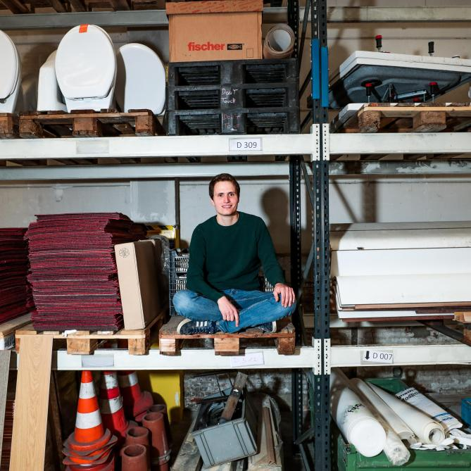 Reuse site materials, a challenge for the future