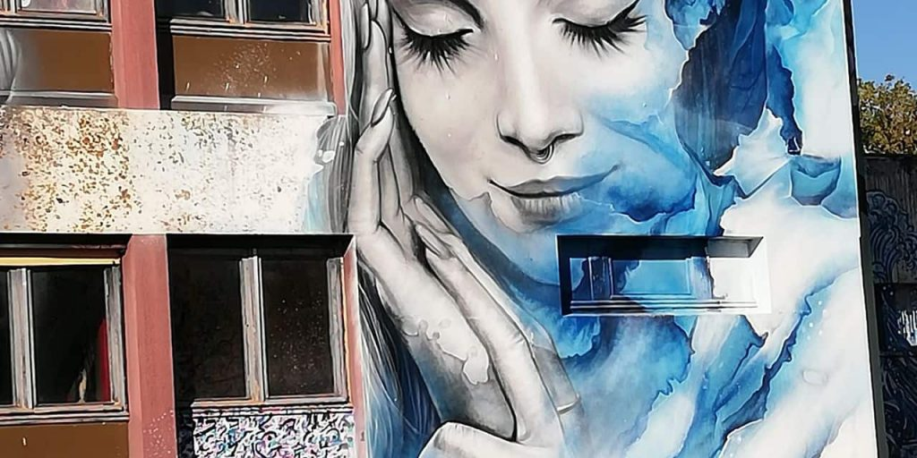Travel to the land of street art